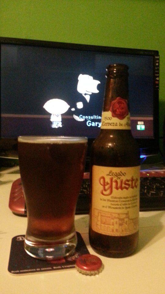 Es Legado De Yuste Cerezas Cerveza
