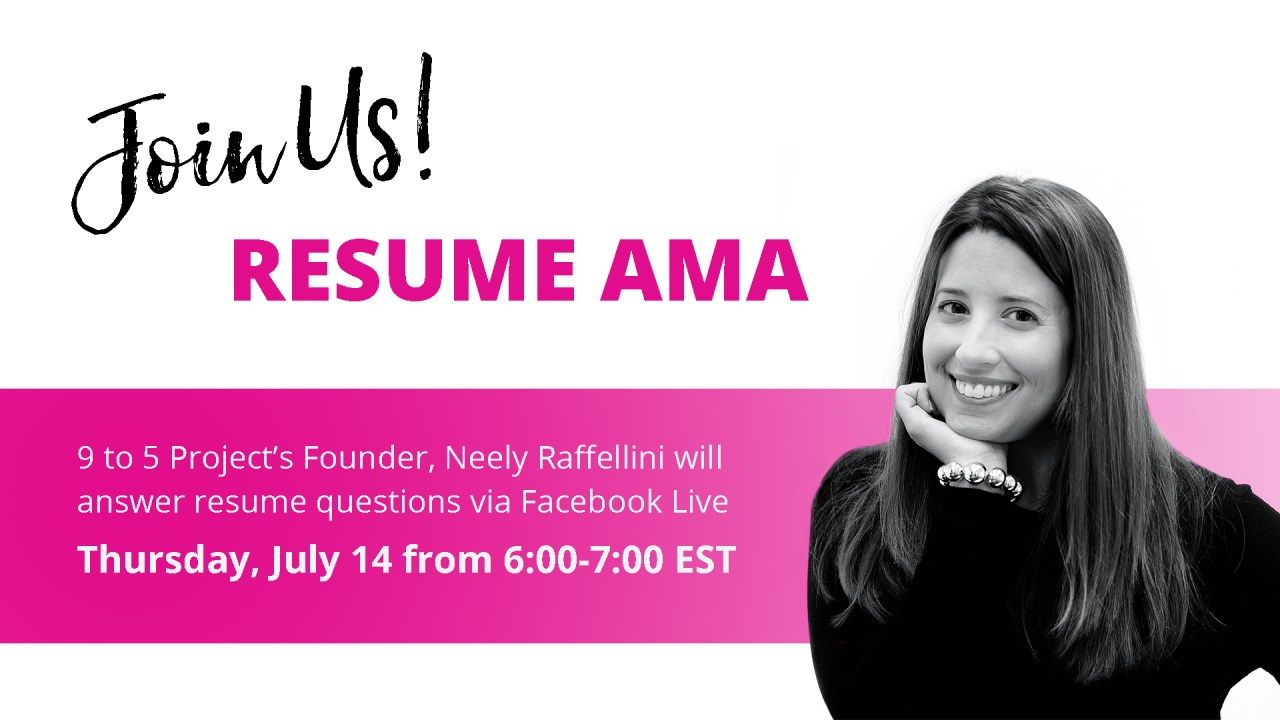 Join us for a resume ama job search motivation resume