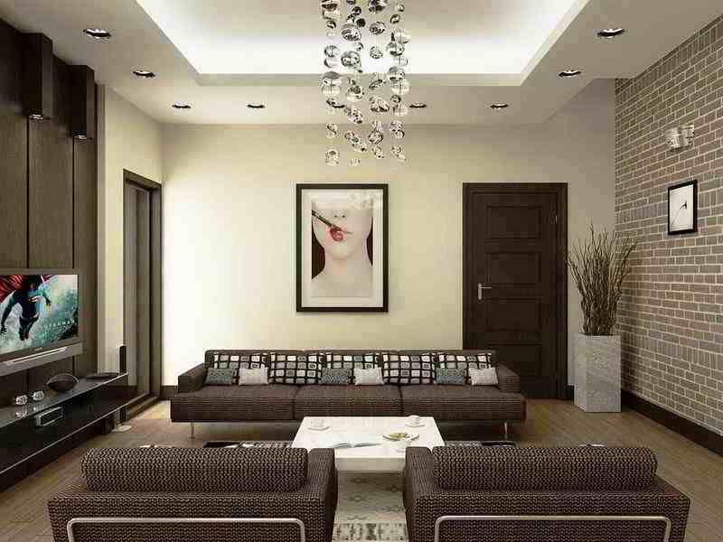 Warna Cat Dinding Ruang Tamu Elegan Desain Minimalis In