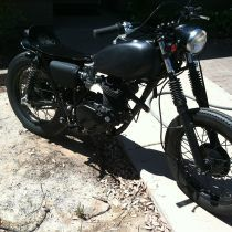1972 Honda Xl 250 street tracker by Chris Capages /// 3rdRevolution