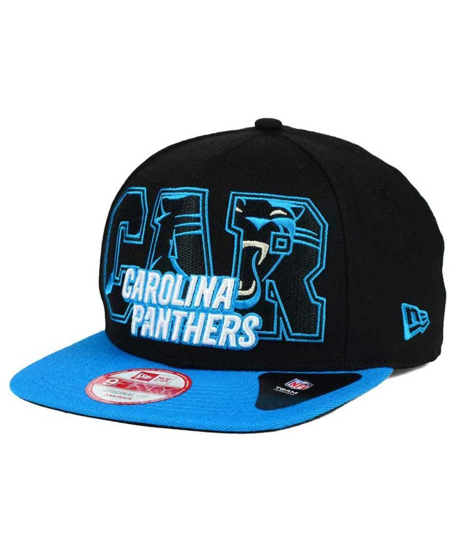 1591f58b New Era Carolina Panthers Big City 9FIFTY Snapback Cap | badass hats ...