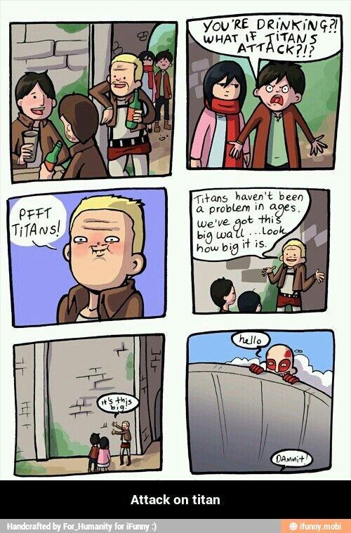Pin By Nick Kramer On Anime 0 Pinterest Attack On Titan Funny