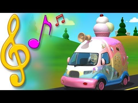 I Want My Ice Cream In A Song 3d Animation For Kids To Sing Along