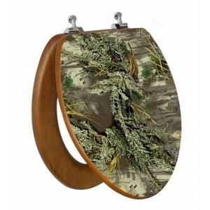 Enjoyable Realtreemax 1 Camo Toilet Seat Cover Camo Home Decor Caraccident5 Cool Chair Designs And Ideas Caraccident5Info