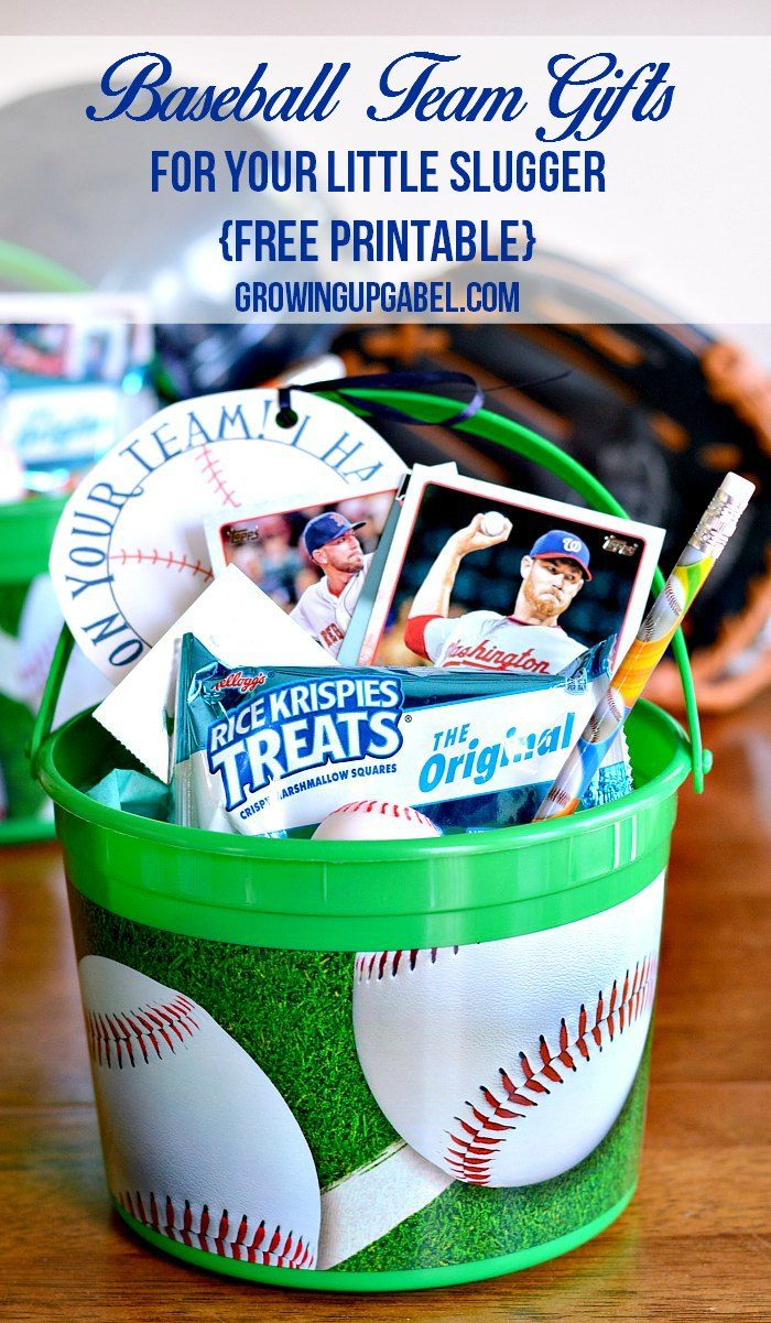 Need An Idea For A Sports Team Gift For Your Childs