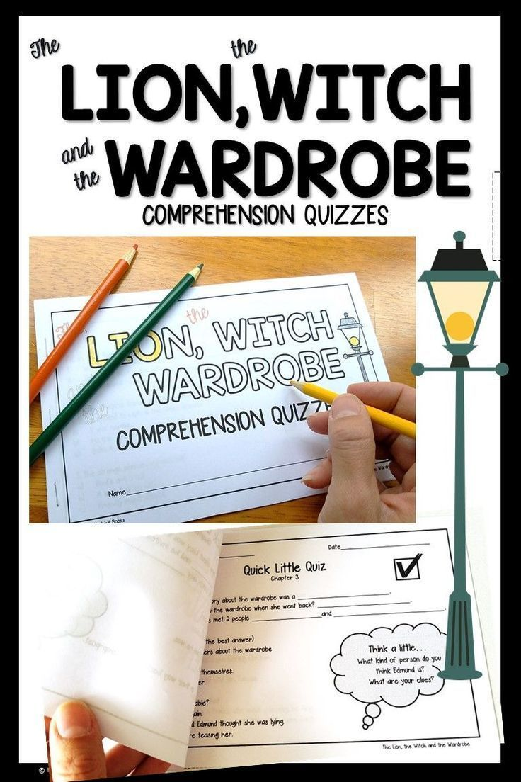 The Lion, the Witch, and the Wardrobe Comprehension