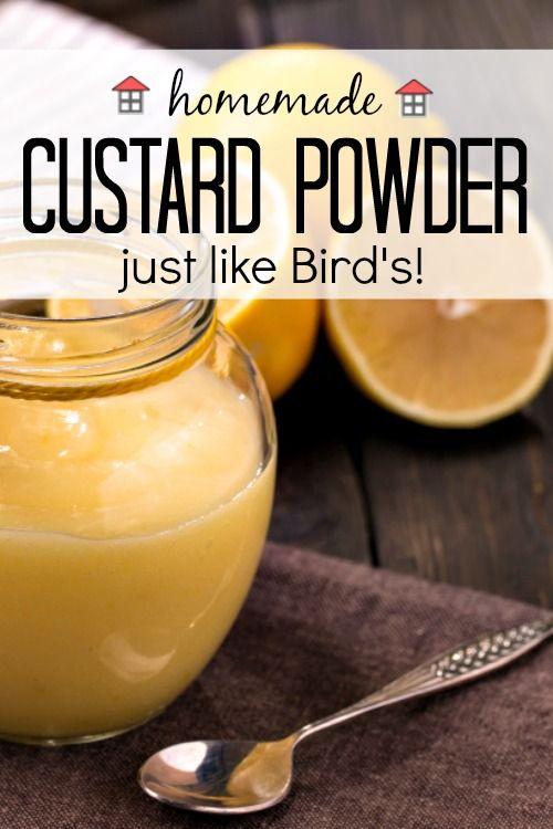 Best Birds Custard Powder Recipe On Pinterest