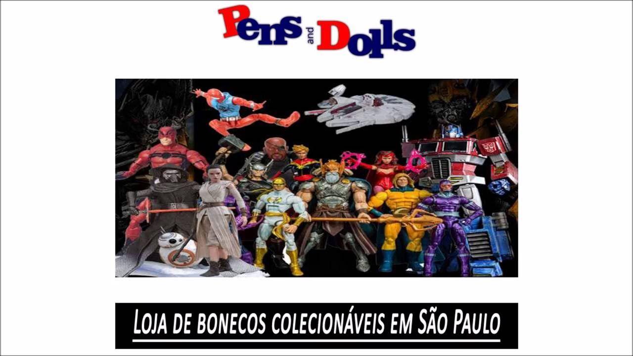 Loja de bonecos colecionáveis em São Paulo - Pens and Dolls