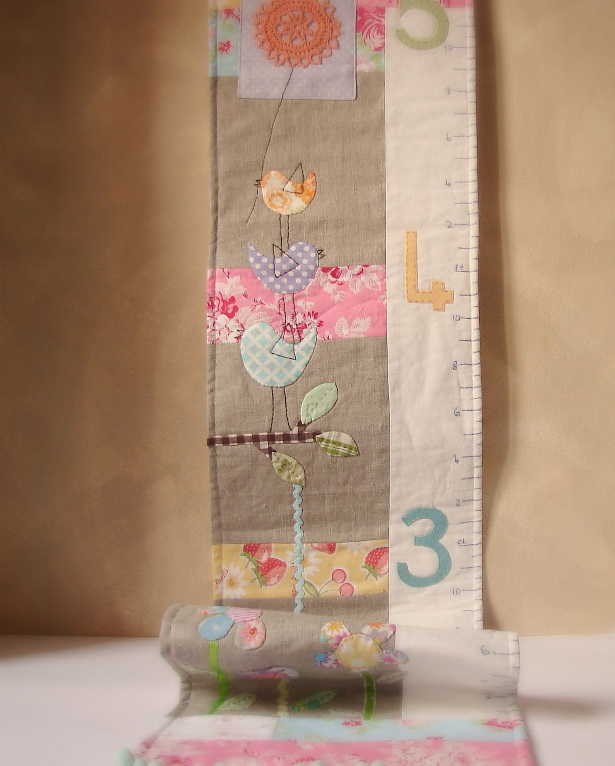 Roxy creations growth chart birds and flower quilting info roxy creations growth chart birds and flower geenschuldenfo Images