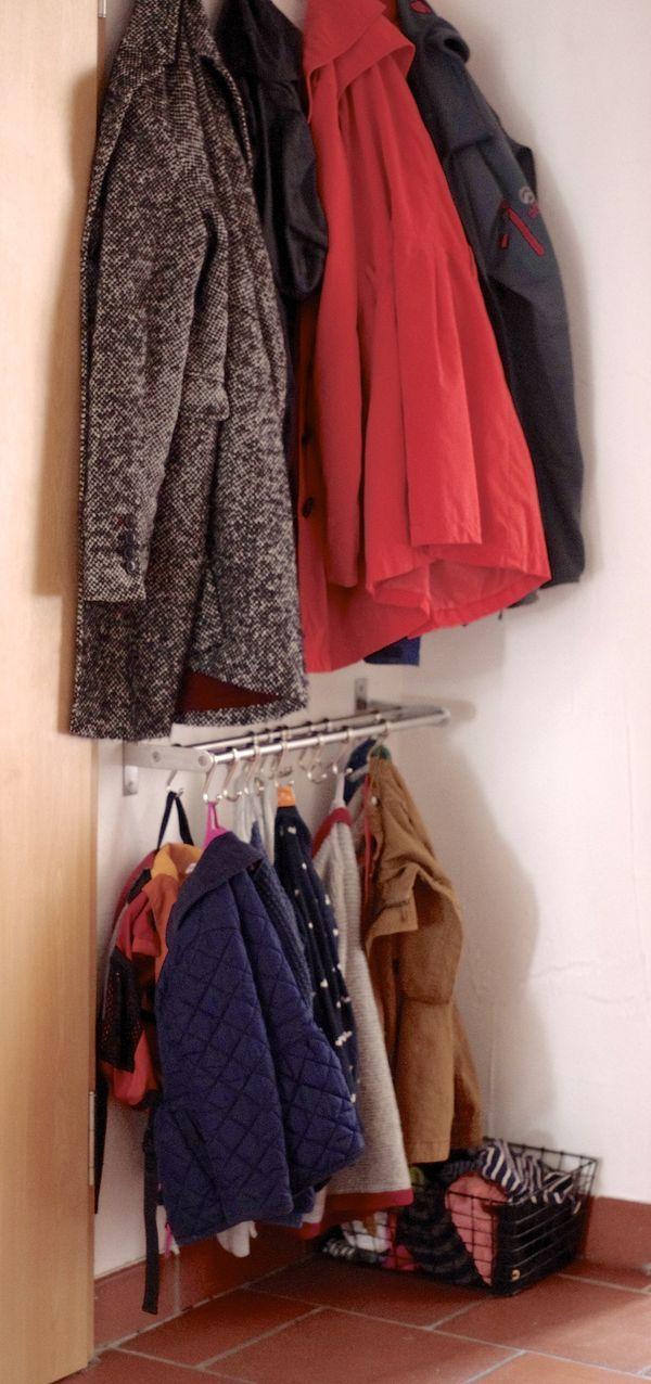 Ikea Hack Oder Was Der Flur Mit Dem Badezimmer Zu Tun Hat Garderobe Kinder Garderobe Jacken Hacken Garderobe