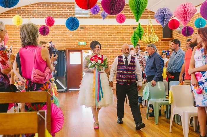 Mexican Inspired Wedding Ceremony + 1950s themed wedding | I take you #wedding