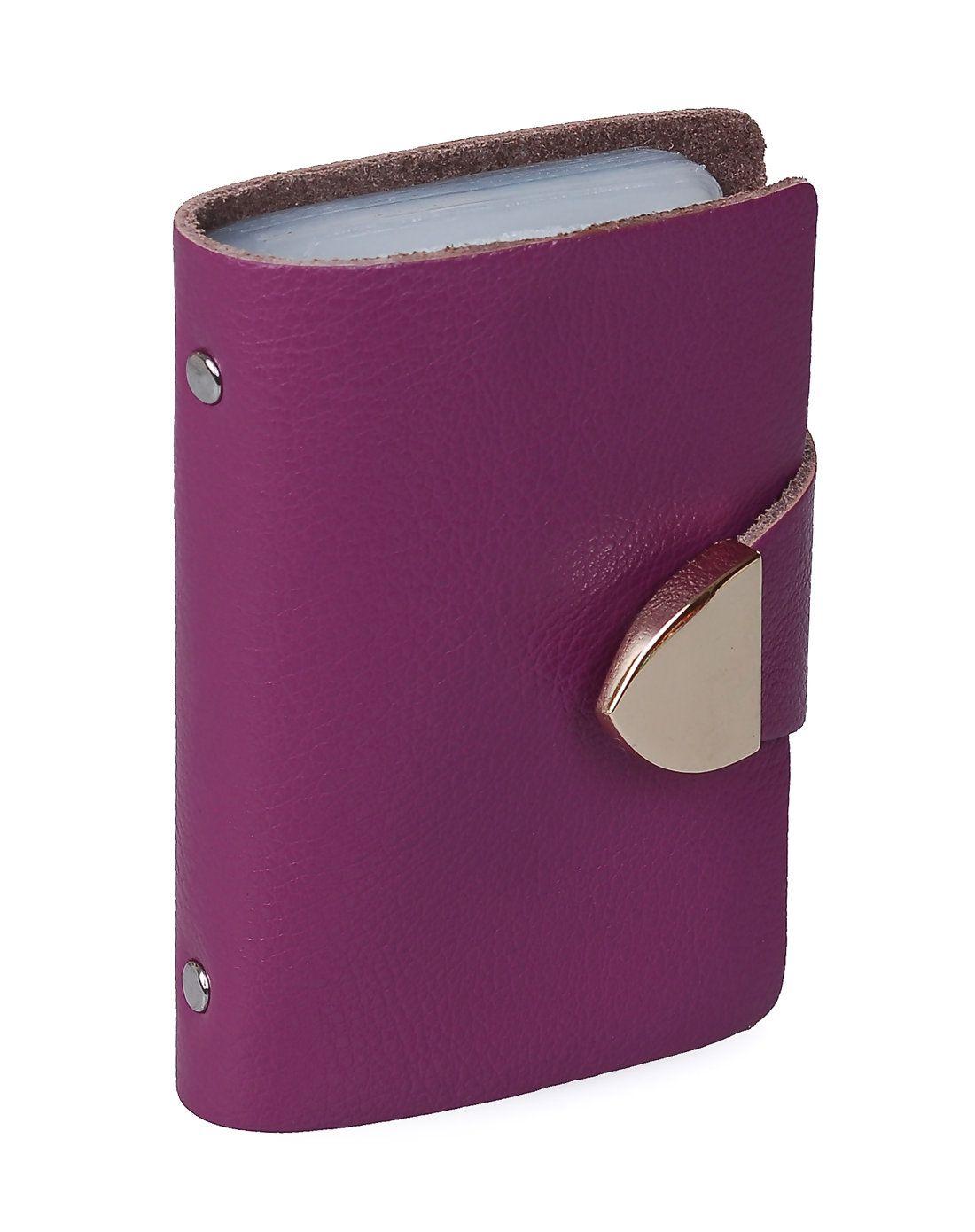 AdoreWe #VIPme Coin & Card Cases - Melovo Fashion Genuine Leather ...