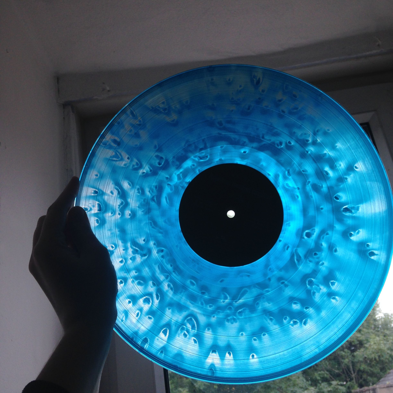 Halsey Hopeless Fountain Kingdom Blue Vinyl Record Hopeless Fountain Kingdom Vinyl Records Blue Vinyl