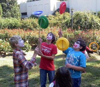 Yearning to become a clown? There's a camp for that! http://www.raleighlittletheatre.org/learn/trackoutcamps.html