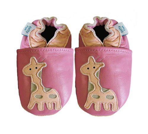 Chaussures En Cuir Souple De Poissons Dotty Pour Bébés - Garçons Et Filles - Rouge Avec Rennes - 27 6SG9wso