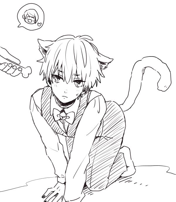 open rp  i u0026 39 m the neko  you u0026 39 d be his mistress  i sigh  and crawl along the floor  for some