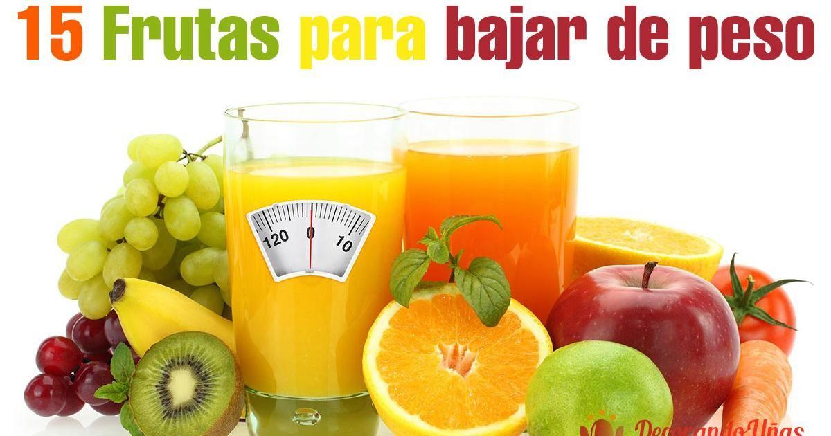 15 frutas que te ayudarán a bajar de peso, ¡tómalas cada día!