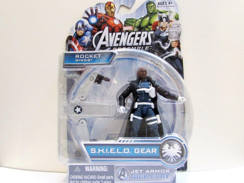 Marvel Avengers Assemble S H I L E L D Gear Jet Armor Nick
