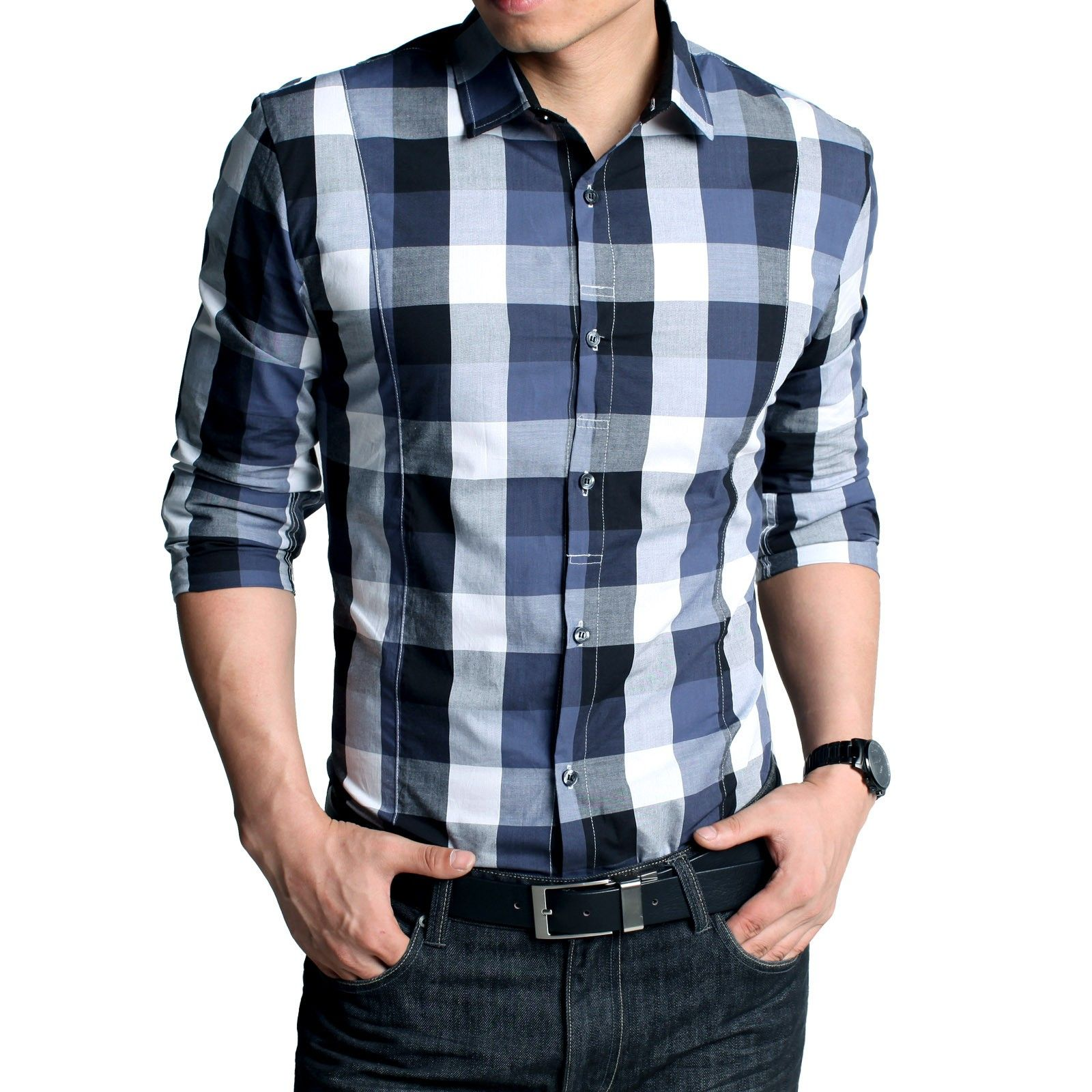 Buy Men's Casual Shirts, Slim Fit, Regular match Shirts on-line in Republic  of India. Brobdingnagian vary of Shirts for Men at buygrab.