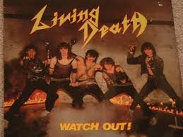 Old   photo    for      Living  Death   speed  metal   and  thrash metal  from  Germany