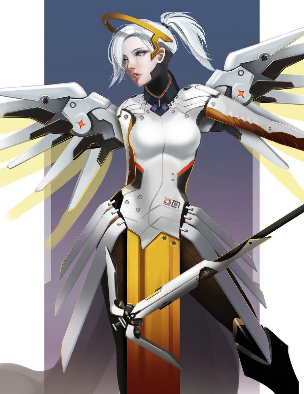 Overwatch Mercy by long5009.deviantart.com on @deviantART