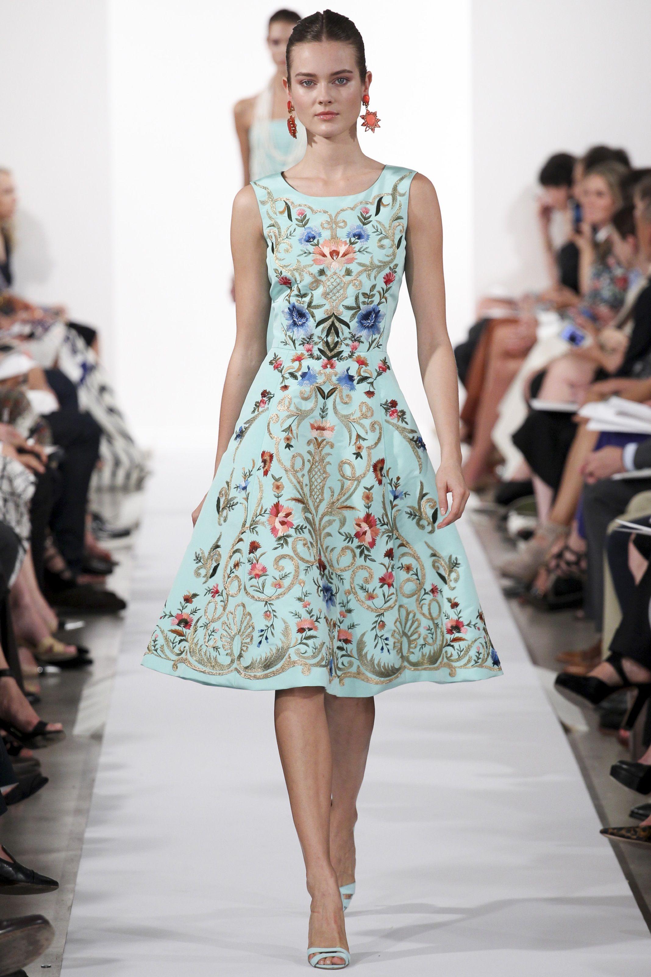 Oscar De La Renta Spring Summer 2014 New York Fashion