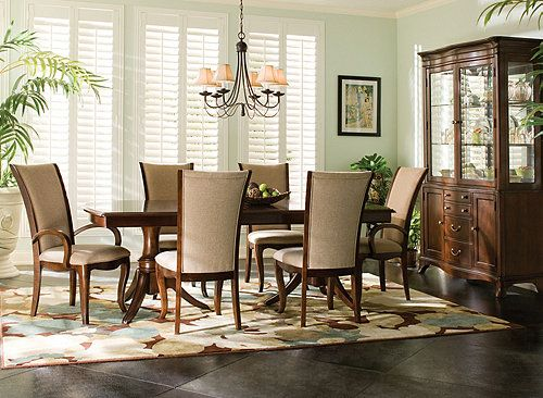 Gibson Dining Room  This Dining Set Is Sleek Contemporary Fair Raymour And Flanigan Dining Room Set Design Decoration