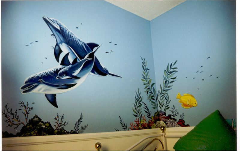 Mural Wall 1000+ images about elliana's dream room on pinterest | dolphin