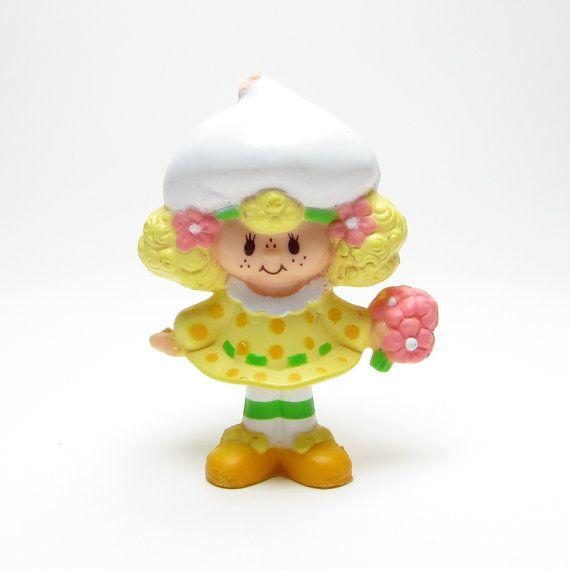 Vintage Strawberry Shortcake Lemon Meringue figurine by