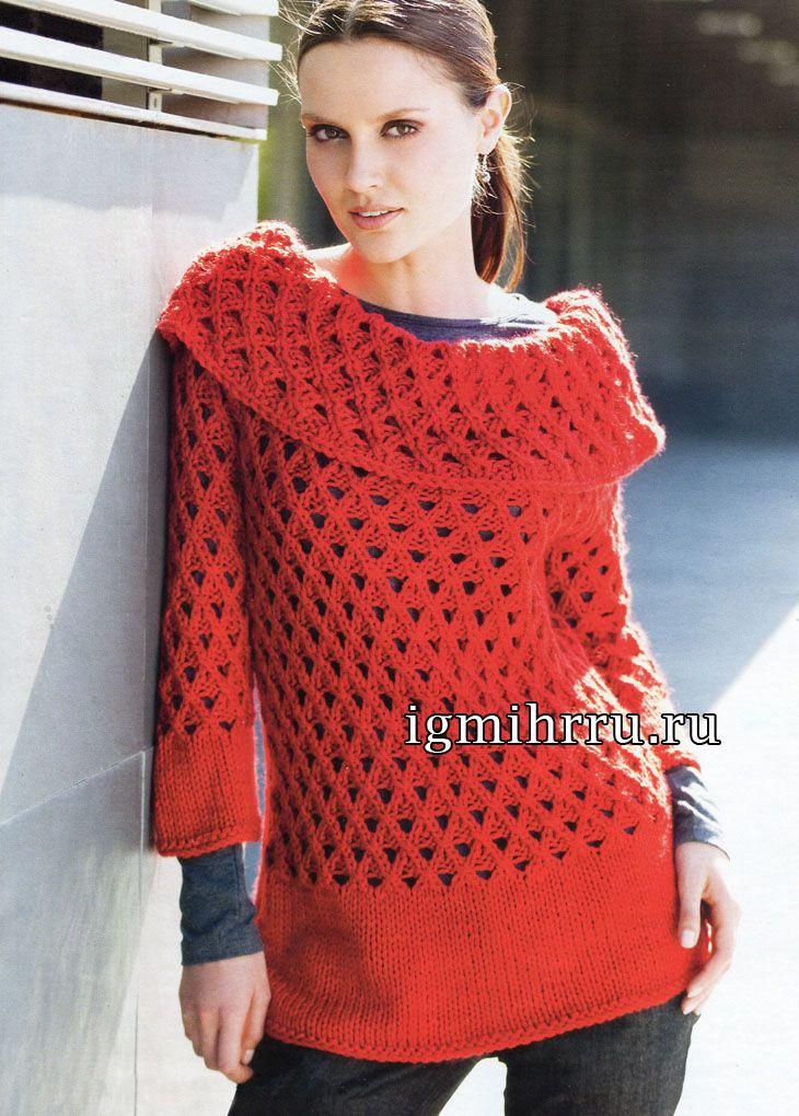 Вязание спицами. Схемы вязания, модели и узоры спицами 76