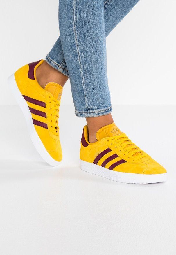 GAZELLE EXCLUSIVE Sneaker low ray yellowcherry wood