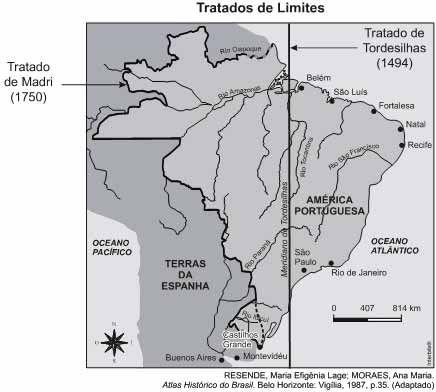 Questao 58 Historia Do Brasil Com Imagens Tratado De