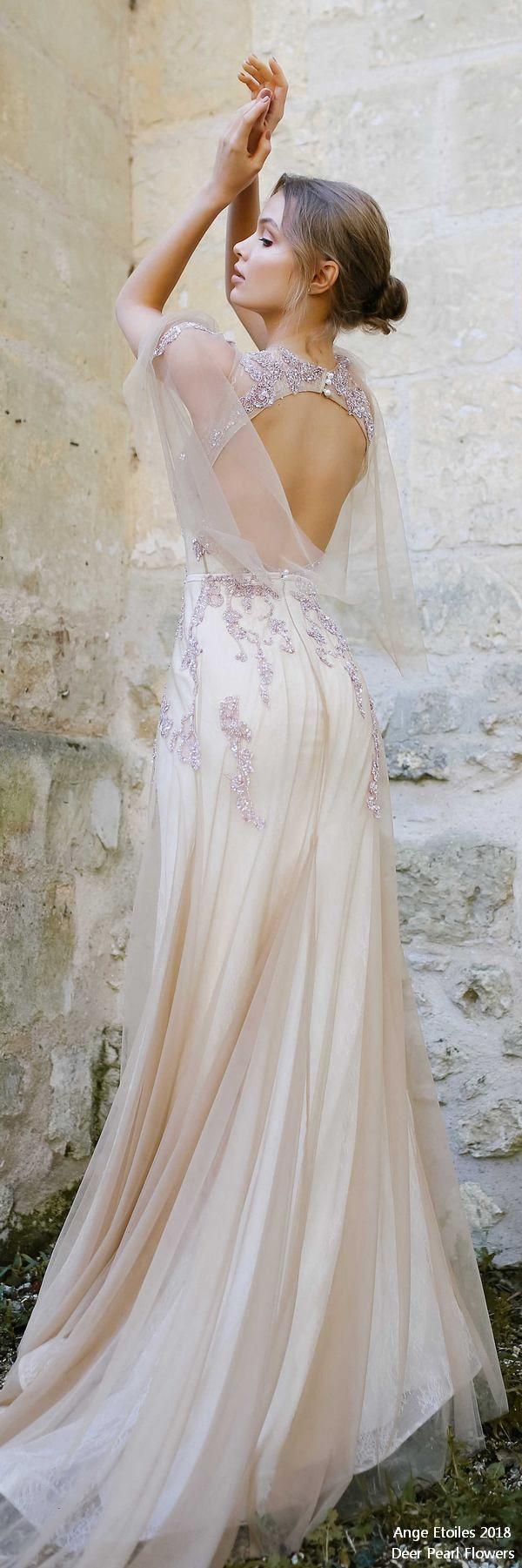 Eva fairy vintage wedding dress erpearlflowers