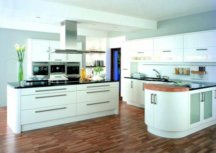 ▷ 61 Vorschläge zum Thema Weiße Küche, wunderbare Gestaltingsideen - Parkett In Der Küche
