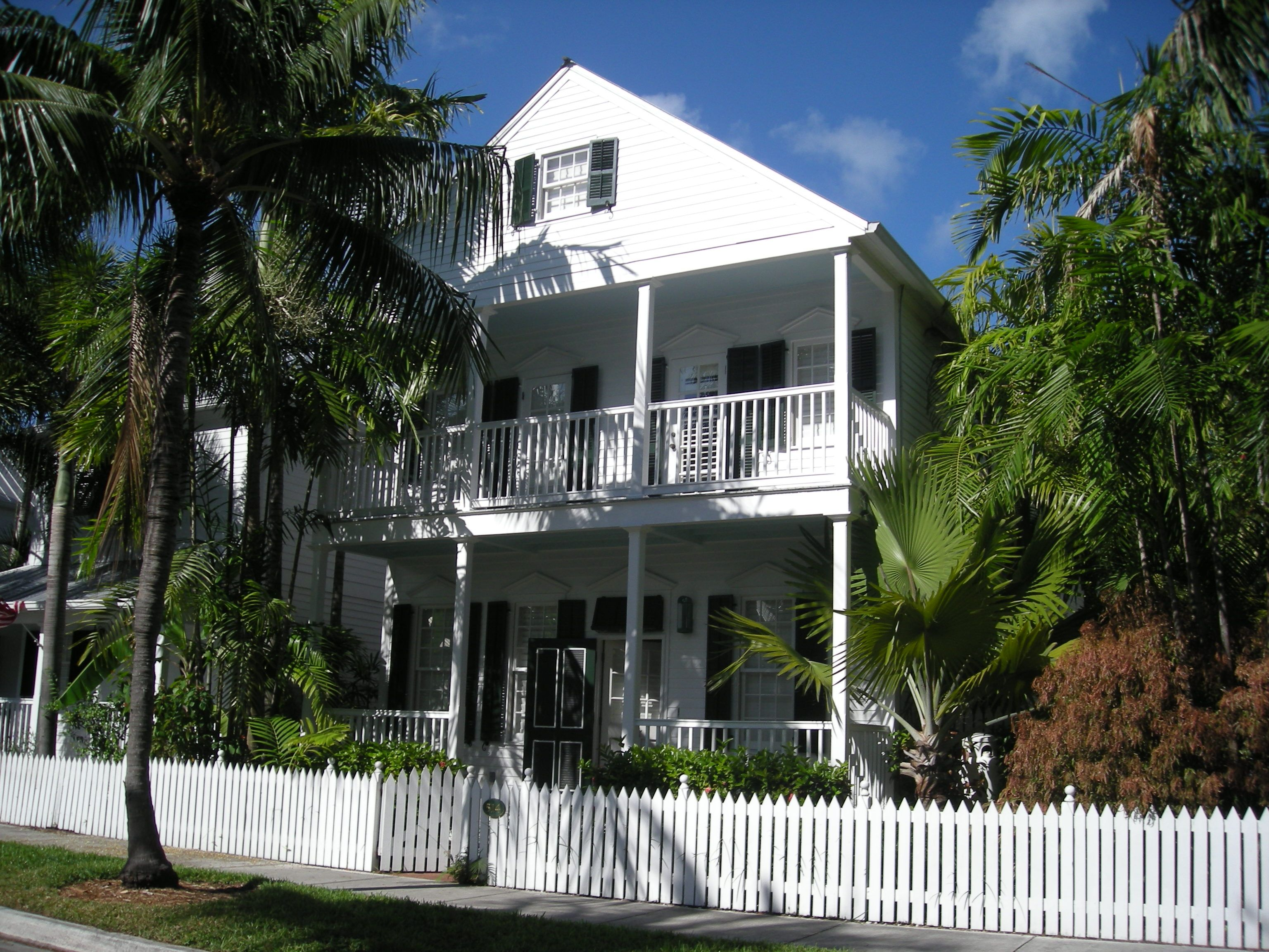 House on Emma Street, in Truman Annex.  Love. #keywest