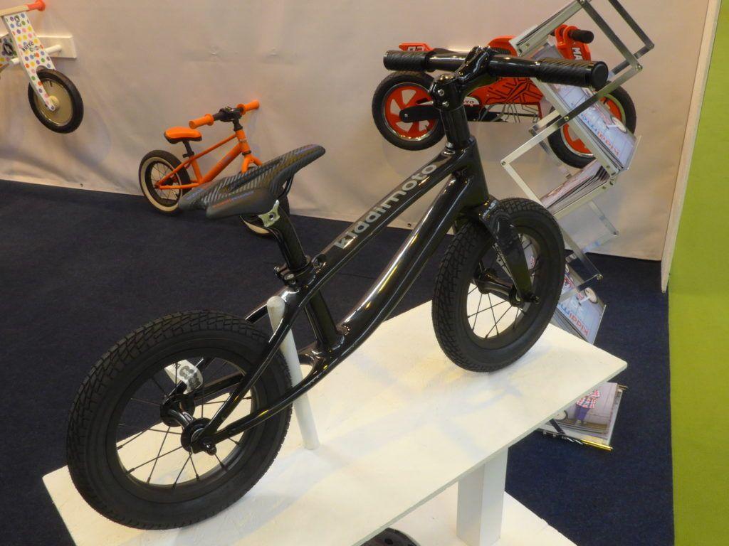 Kiddimoto Karbon Carbon Balance Bike 2016 Cycle Show Nec