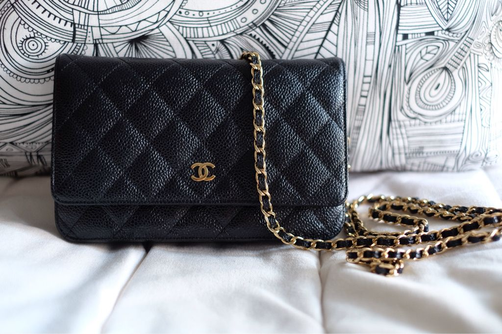 d9d493aa90e6 Chanel W.O.C caviar leather and gold hardware. | Bags | Chanel woc, Chanel, Chanel  woc caviar