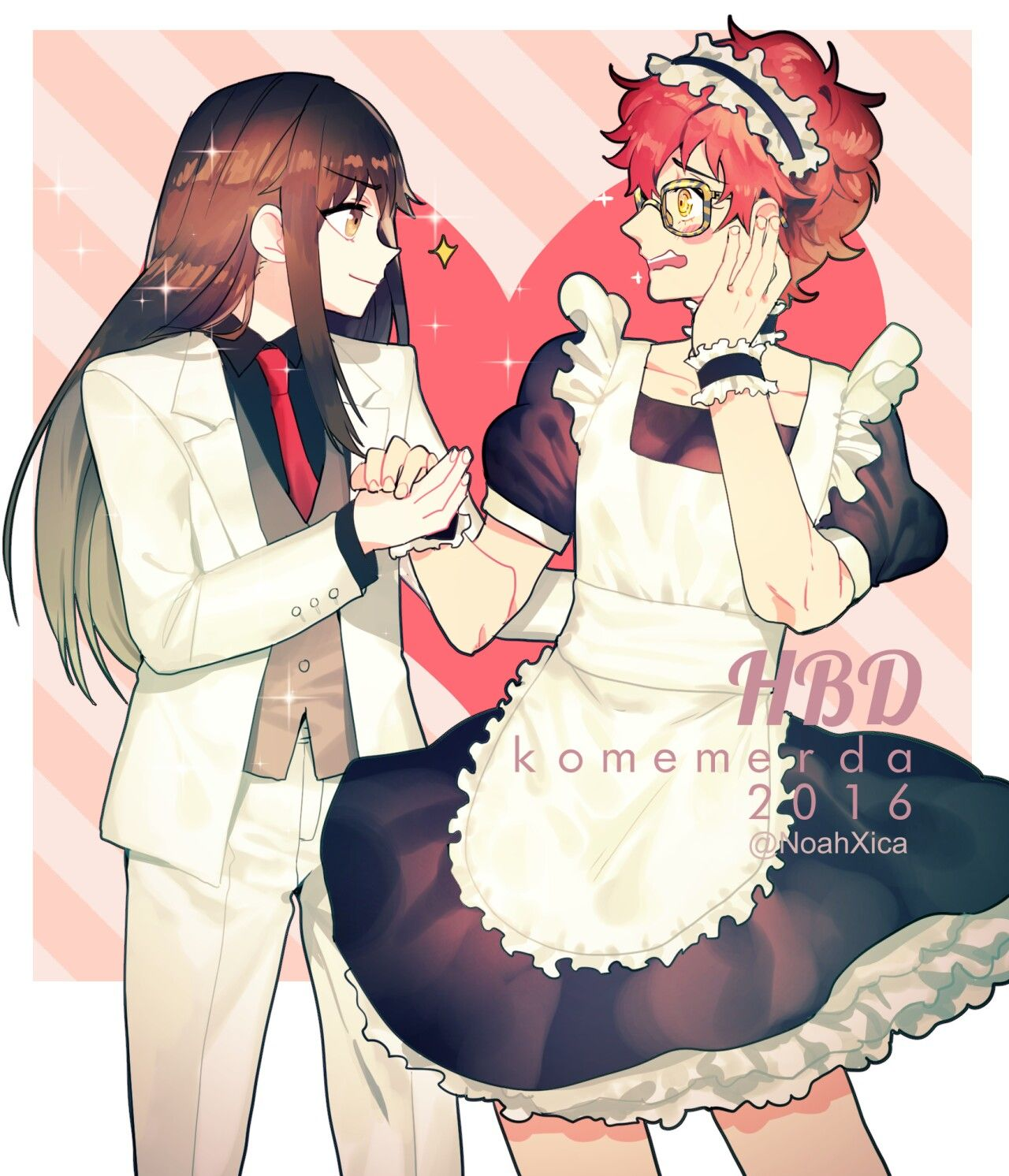 I NEED 707 TO BE MY MAID AND BOYFRIEND