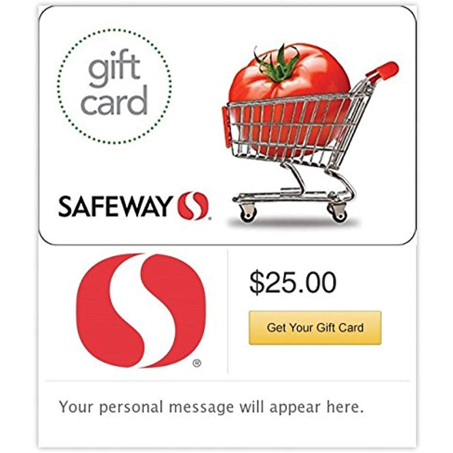 Safeway - E-mail Delivery #GiftCards | Gift Cards | Pinterest ...