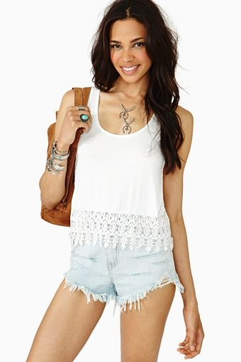 a9a47fd111e Daisy Crop Tank must have Beach wear hipster vintage love you me girl  couple fashion clothes like kiss hope cute stuff bows nails eyes makeup  shoes heels ...