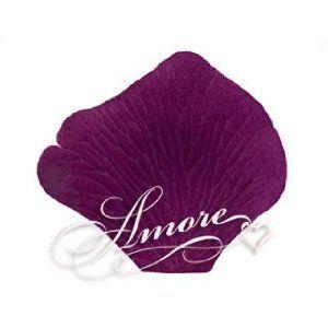 1000 Wedding Silk Rose Petals Sangria