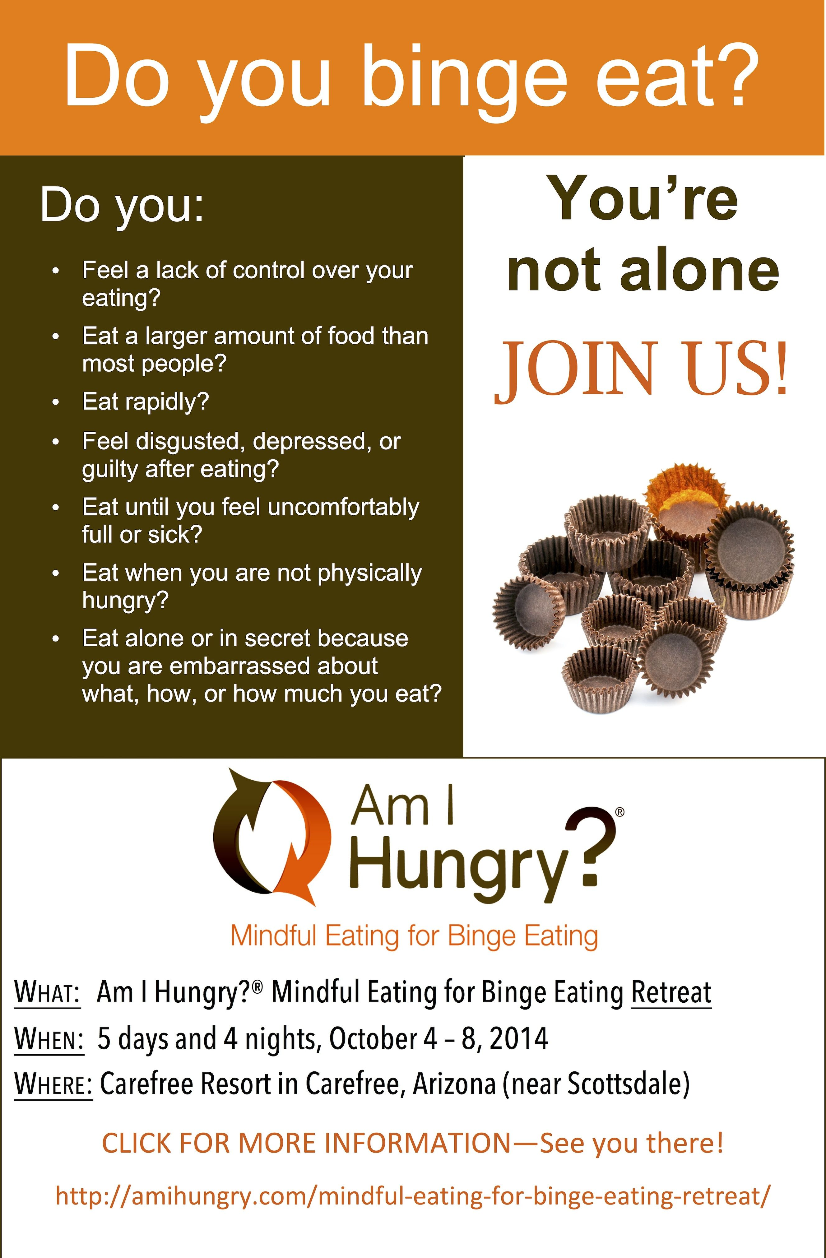 Mindful Eating Retreat For Emotional Eating And Binge Eating