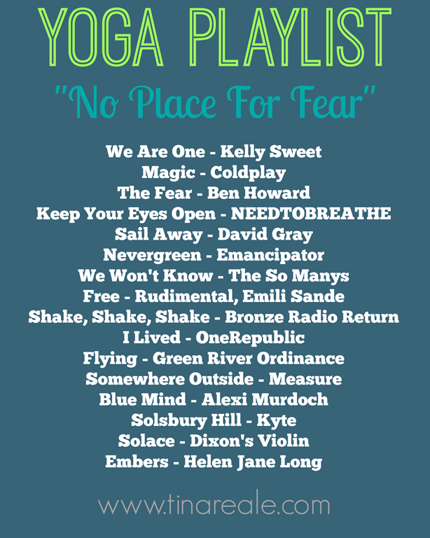 Yoga Playlist - No Place For Fear | Namaste | Yoga playlist
