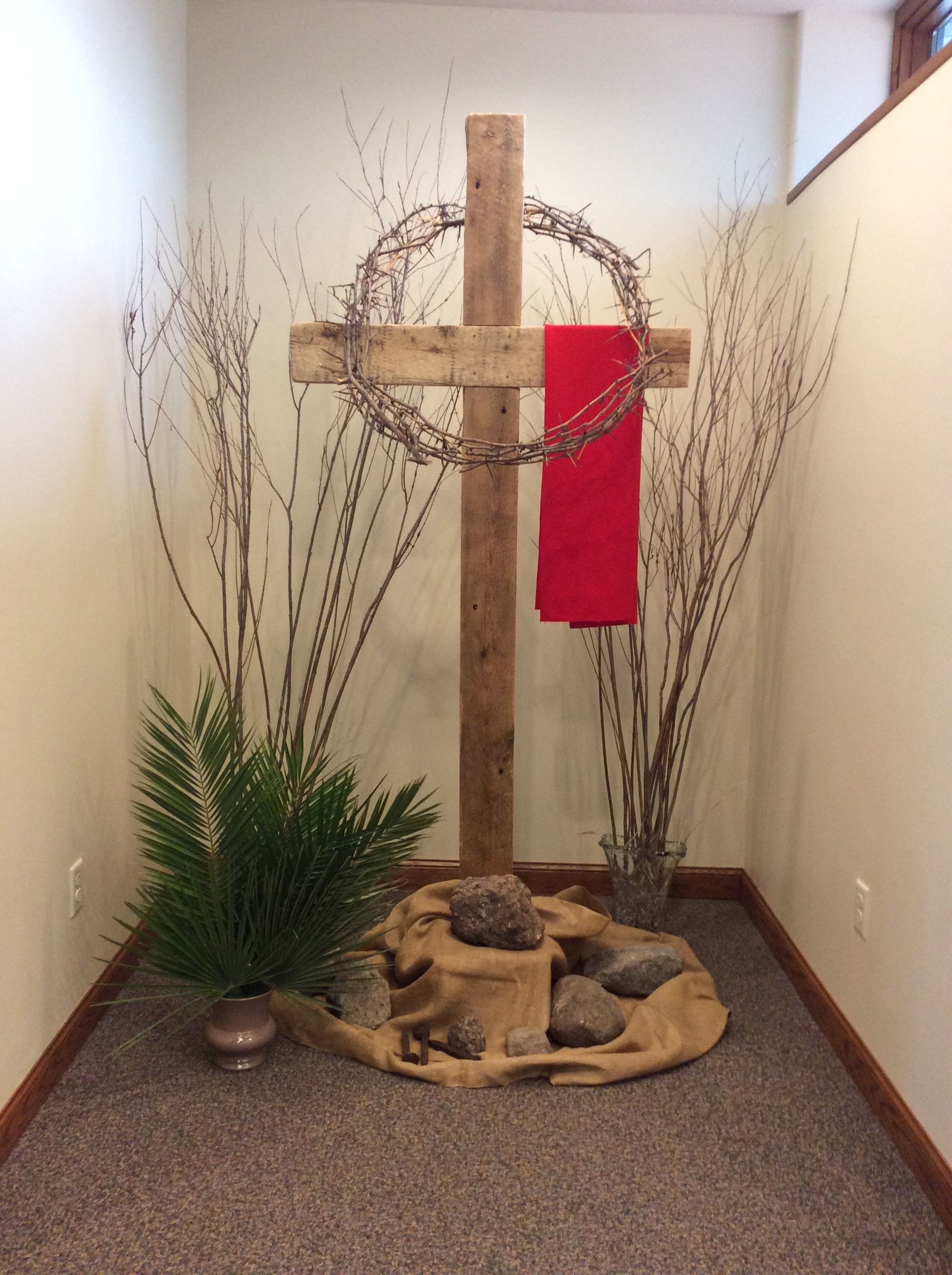 Good Friday St Olaf Catholic Church Imagen Cruz Decoracao De