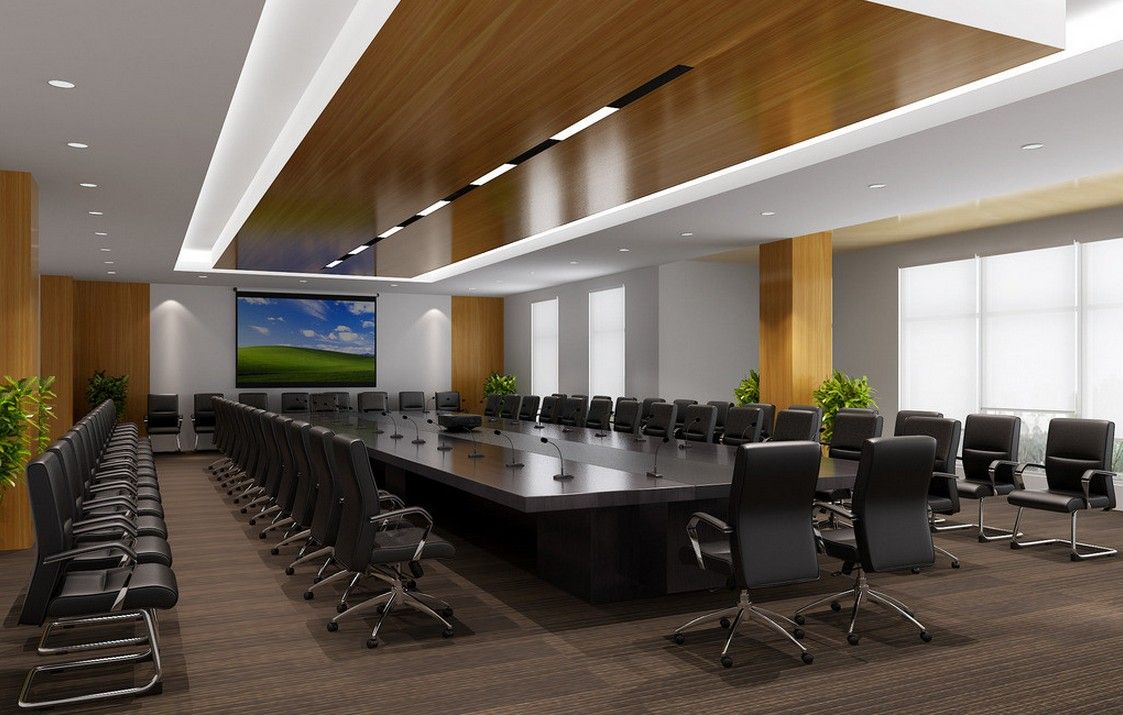 Amazing Meeting Room Design Ideas Part - 14: Bank Meeting Room Interior Design