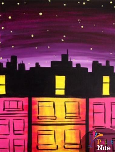 """Windows"" created for Paint Nite by Gabriel Nazareta"