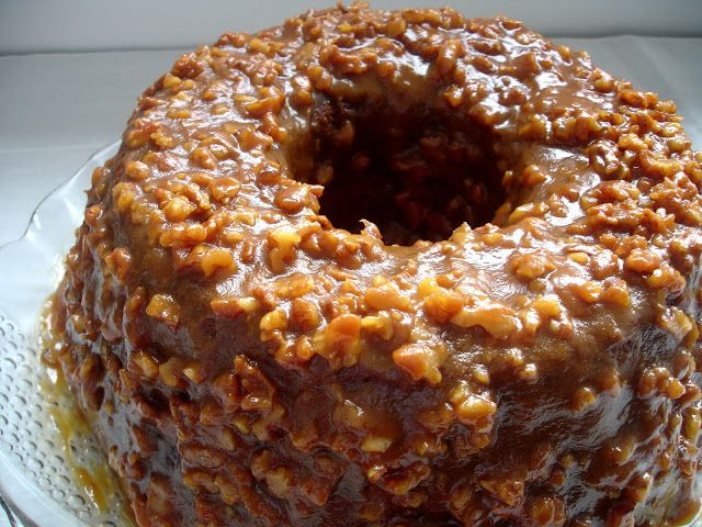 BOLOS PORTUGUESES  (bolo de caramelo)