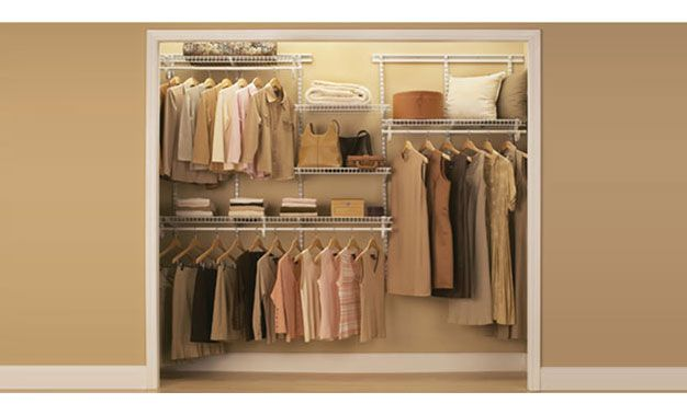 Wire Shelving Closets   Google Search