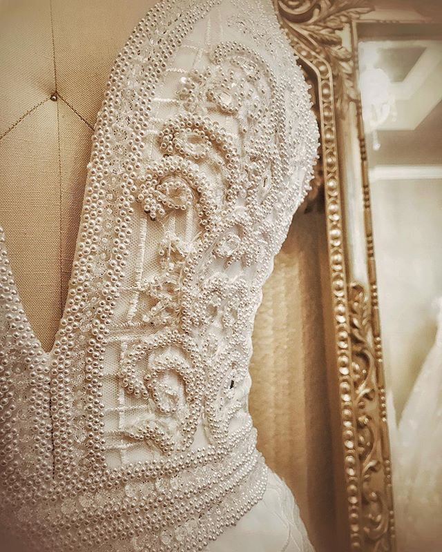 Custom Wedding Dress Beaded Wedding Dress Designer Handmade - Custom Wedding Dress Designers