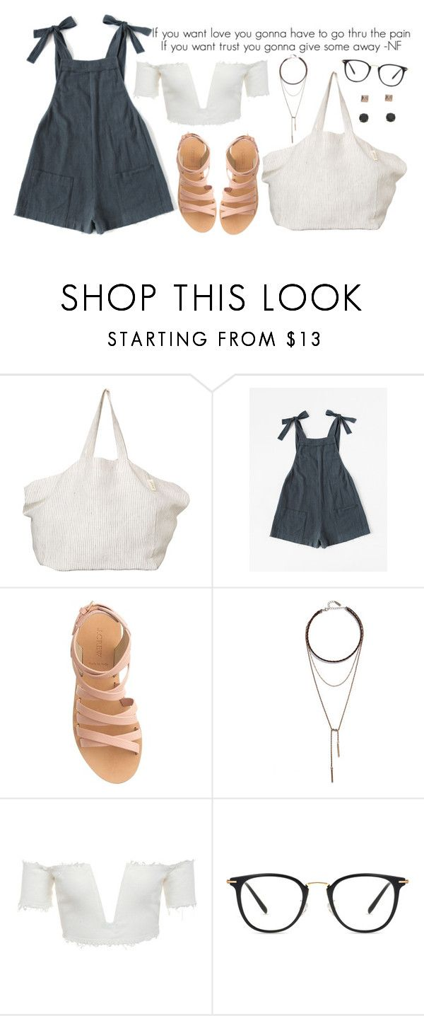 """Untitled #1368"" by asoul4 ❤ liked on Polyvore featuring The Beach People, J.Crew, LULUS and Mudd"